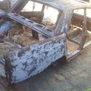 Autórestauráláshoz karosszéria homokfúvása